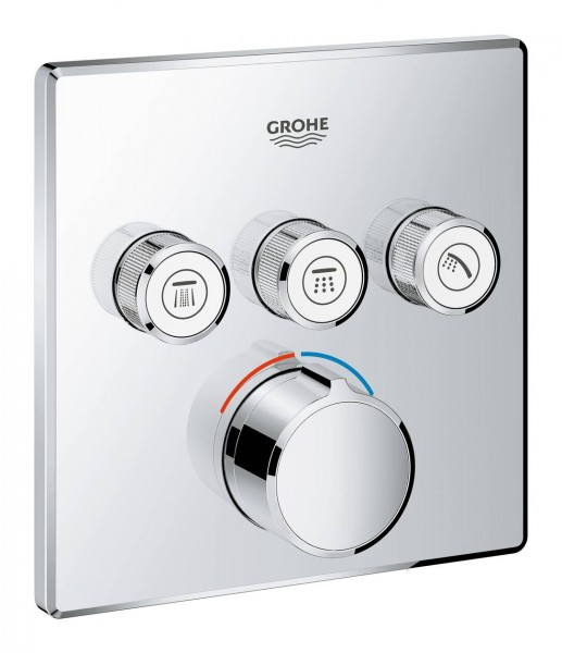 Robinet Encastrable Grohe SmartControl 3 sorties 29149000