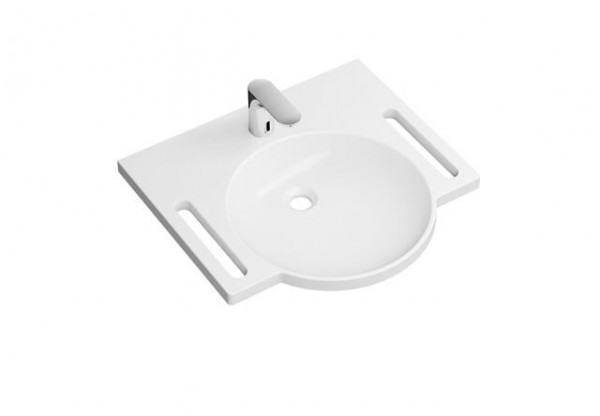 Lave Main Rond Hewi avec robinet 600 mm Blanc Alpin 950.19.006