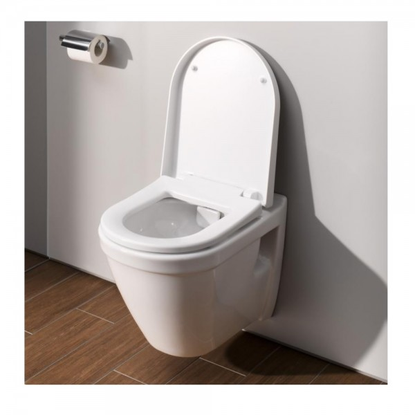 Cuvette WC Suspendu VitrA S50 sans bride flush 2.0 360x520 mm Blanc 7740B0030075