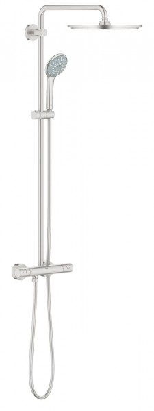 grohe thermostatic shower euphoria 310 for wall mounting 26075