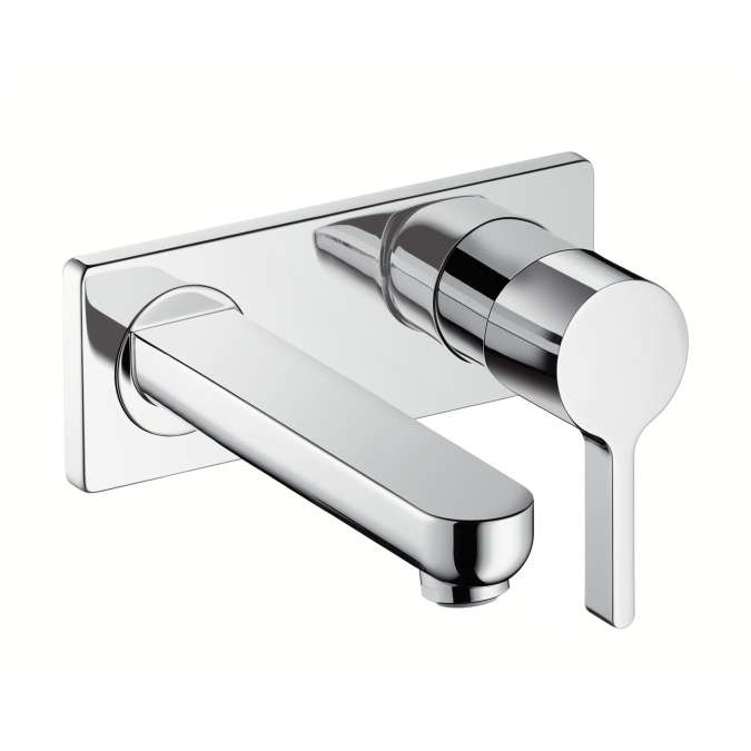 hansgrohe metris s single lever basin tap with short spout for rh superbath co uk