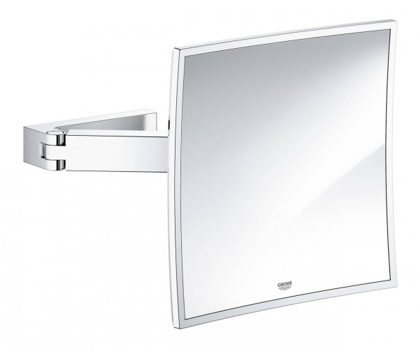 Miroir Grossissant Grohe Selection Cube