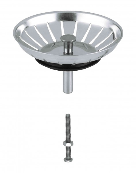 Bonde Lavabo Grohe Ø83mm Stainless Steel