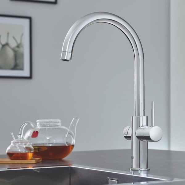 Robinet Chauffe Eau Grohe Red Duo Red instantané