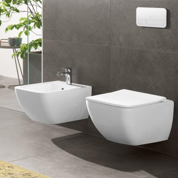villeroy and boch square toilet seat and cover slimseat venticello