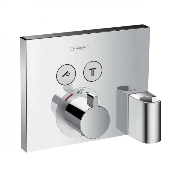 Robinet Encastrable Hansgrohe ShowerSelect Set de finition pour thermostatique 15765000