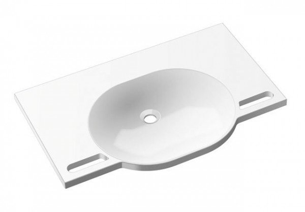 Lavabo Suspendu Hewi 850 mm Blanc Alpin 950.11.600