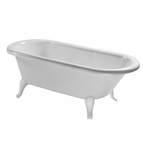 Baignoire Sur Pied Villeroy et Boch Hommage 1771x771x617 mm Star White UBQ180HOM7W0V96