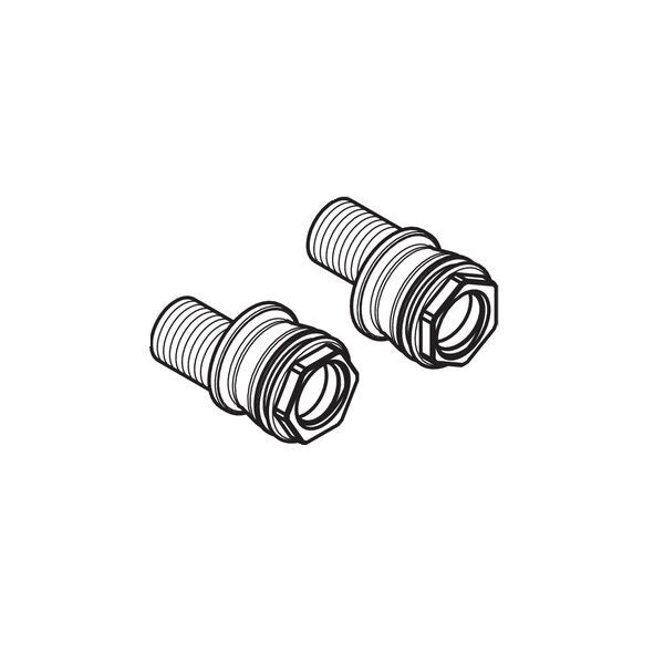 Raccord Plomberie Hansgrohe Set des raccords-S