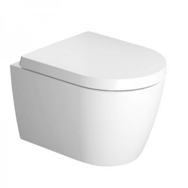 WC Suspendu Duravit ME by Starck Blanc Sans Bride Abattant Soft Close 45300900A1