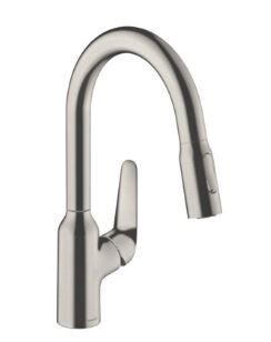 Robinet Cuisine Douchette Hansgrohe M42 Finition Inox (71801800)