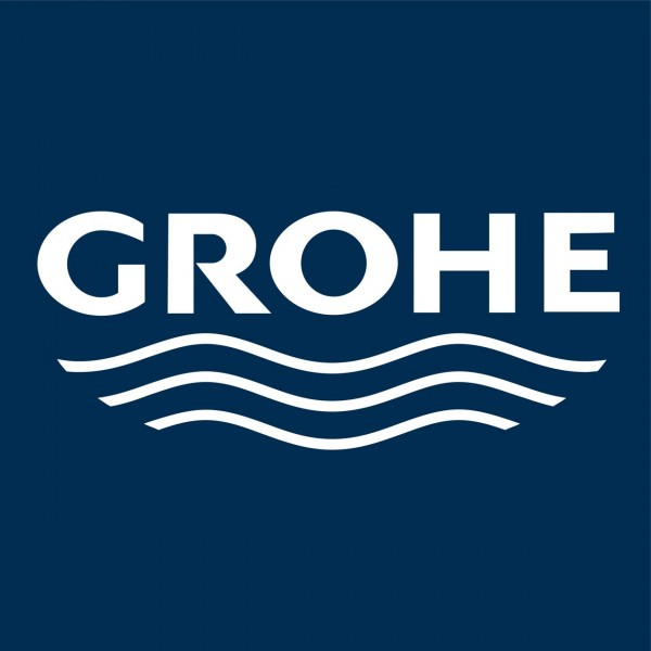 Support Douchette Grohe Twin Laiton noble/Noir