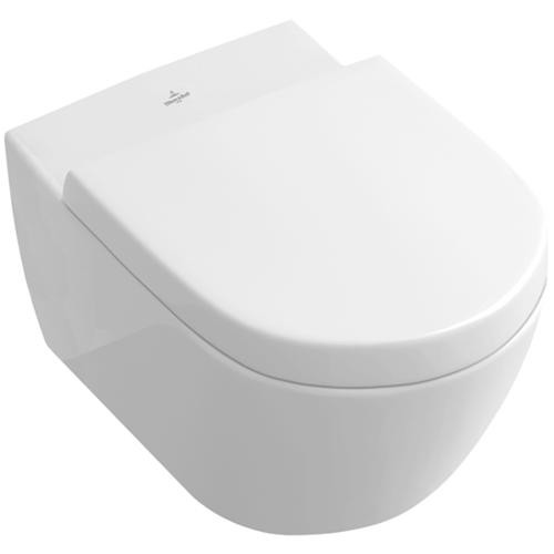 villeroy and boch toilet with soft closing seat subway