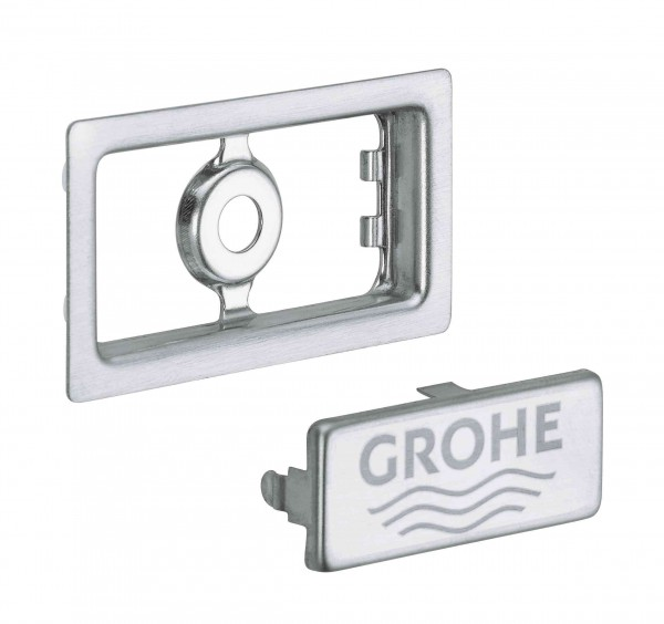 Bonde Lavabo Grohe 55,3x30,3mm Stainless Steel