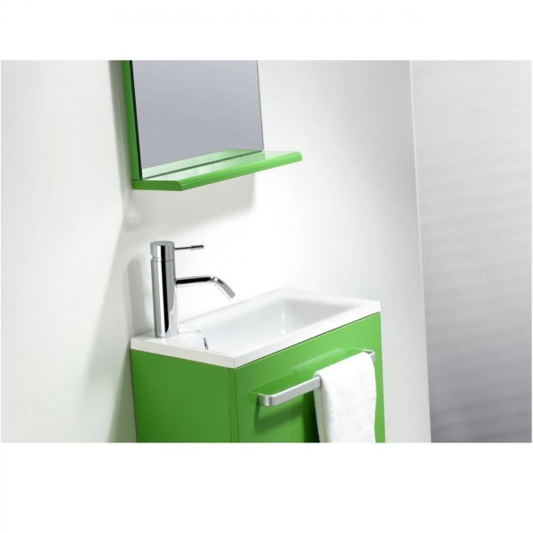 The Bath Collection Badkamermeubel Set NIZA Wastafel, meubilair en spiegels 440x250x470mm