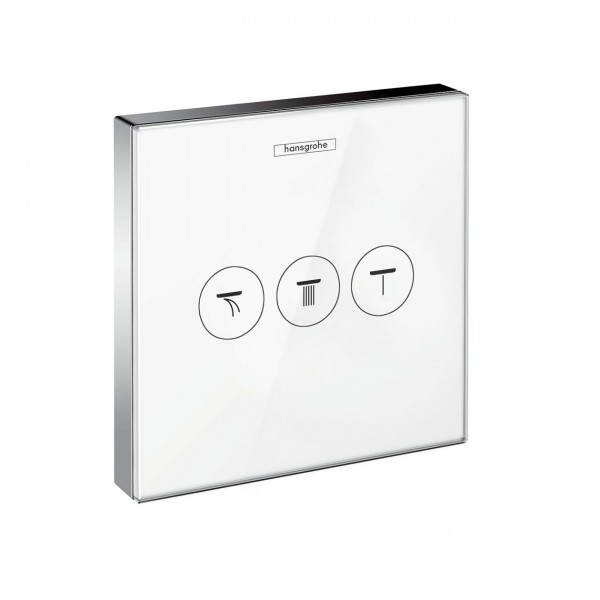 Robinet Encastrable Hansgrohe ShowerSelect Set de finition avec 3 fonctions 15736400