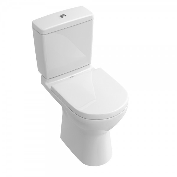 villeroy and boch back to wall toilet with seat and cistern o novo