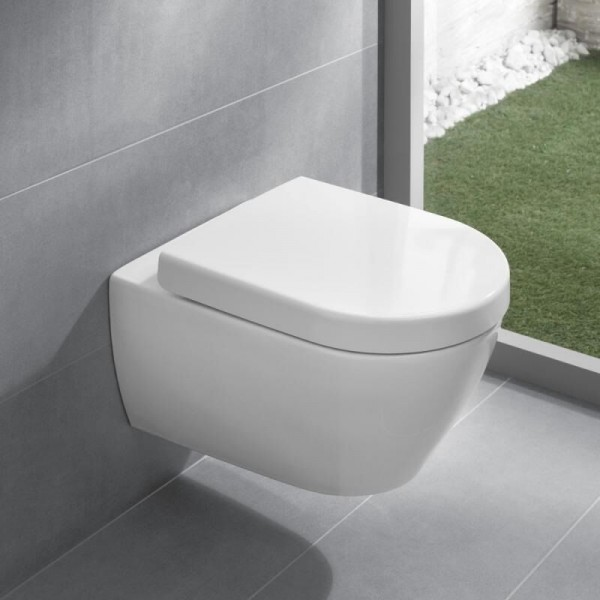 Pack WC Suspendu Villeroy et Boch Subway 2.0 sans bride 5614R0R1+9M68S101