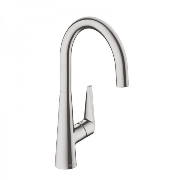 Mitigeur cuisine hansgrohe talis s 260 aspect acier - Mitigeur cuisine hansgrohe ...