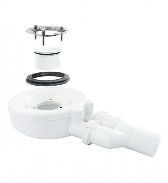 Bonde de Douche Bette Floor Kit de vidage 0,85 l/s Chromé