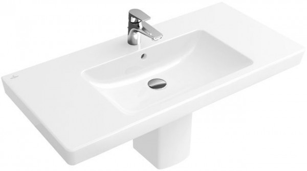 Plan de toilette Villeroy et Boch Subway 2.0 angulaire 1000x470 mm 7175A001