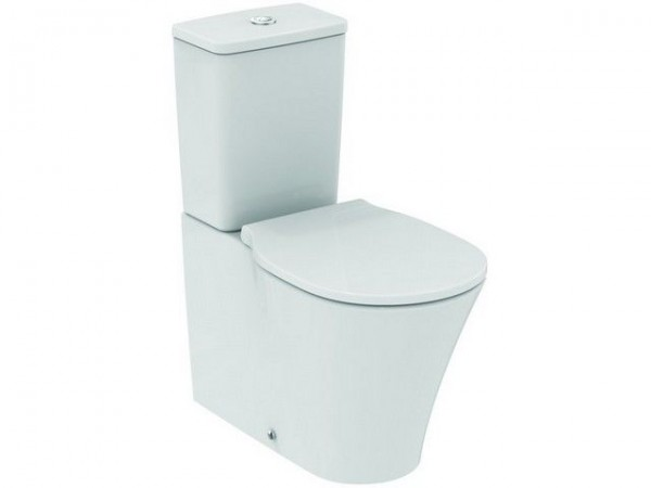 Sanitari Filo Muro Ideal Standard.Sanitario Wc A Terra Ideal Standard Connect Air Aquablade Per Vaschetta Wc Ceramic Ideal E0137ma