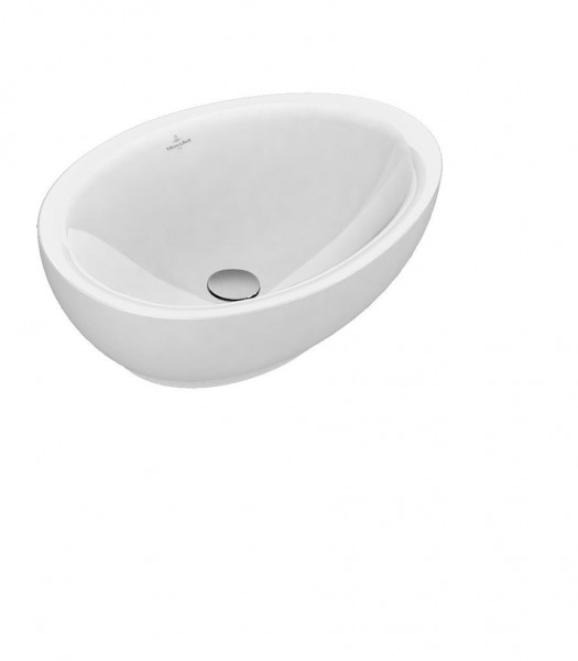 Vasque à Poser Villeroy et Boch Aveo New Generation 595x440 mm Blanc Alpin