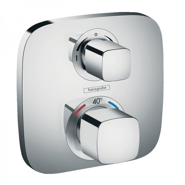Robinet Encastrable Hansgrohe Ecostat E Set de finition thermostatique