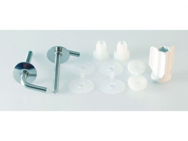 Ideal Standard Other Spare Parts San Remo Hinges for toilet seat  Beech/stainless steel