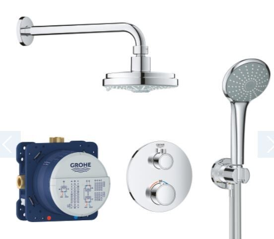 Douche Encastrable Grohe Cosmopolitan 160 286mm Chromé
