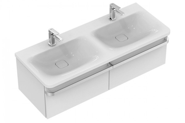 Lavabo Double Ideal Standard Tonic II Double 1215 mm Céramique Ideal + K0870MA