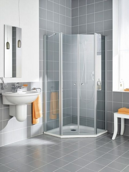 Cabine de Douche Kermi IBIZA 2000 2 battants 1850x900mm Transparent (I2B34090181AK)