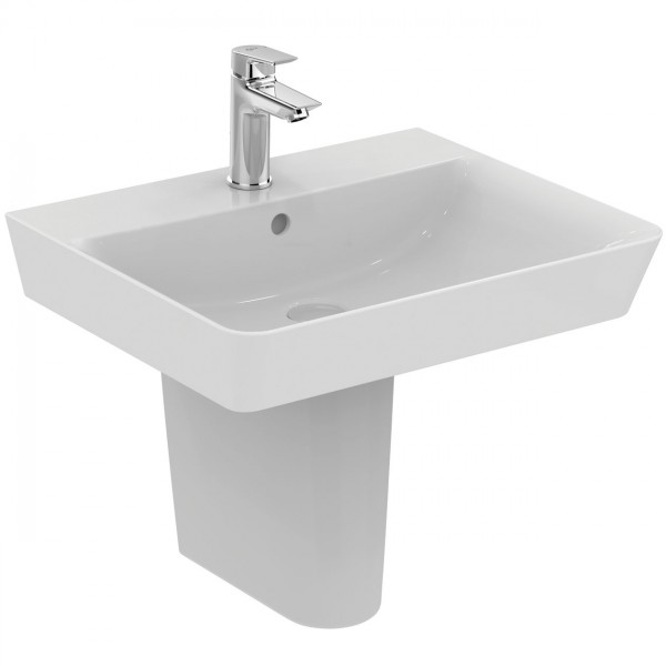 Lavabo Suspendu Ideal Standard Connect Air Cube 550mm Céramique Ideal +