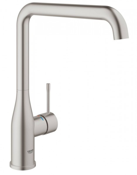 Mitigeur Cuisine Grohe Essence Plus supersteel