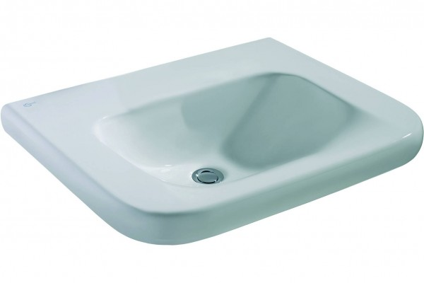 Lavabo Suspendu Ideal Standard Contour 21 PMR 600 mm Céramique Ideal + E5122MA
