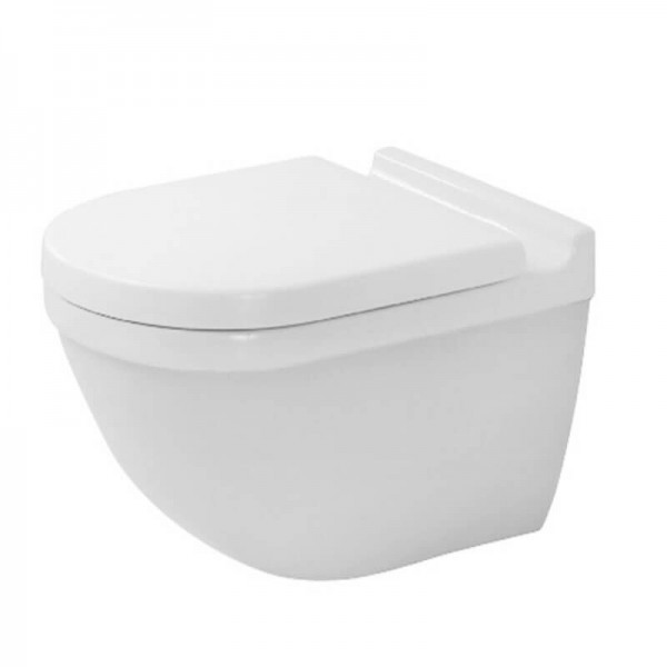 WC Suspendu Duravit Starck 3 Blanc Abattant Soft Close 42250900A1