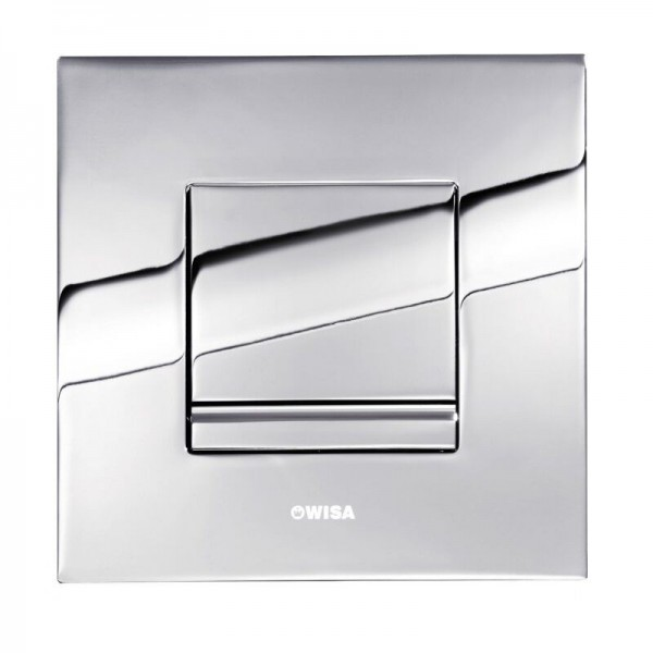 Plaque de Commande Delos urinoir Plastique Wisa Chrome brillant