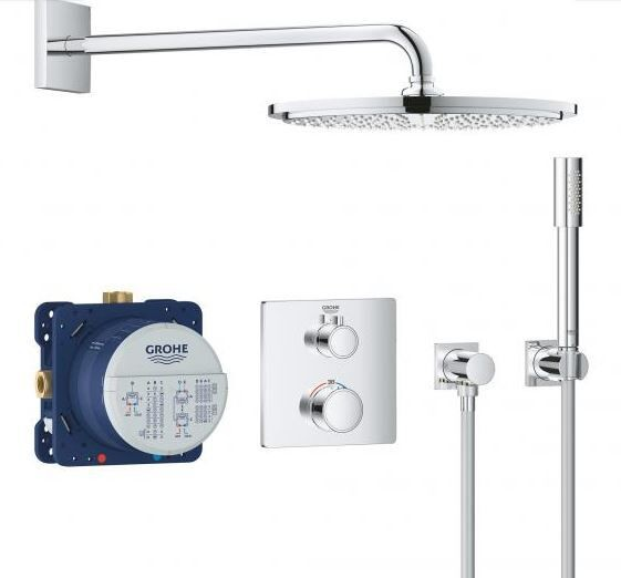 Douche Encastrable Grohe Cosmopolitan 310 422mm Ø310mm Chromé