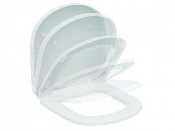 Ideal Standard Soft Close Toilet Seat Kheops Duroplast White Plastic T679301