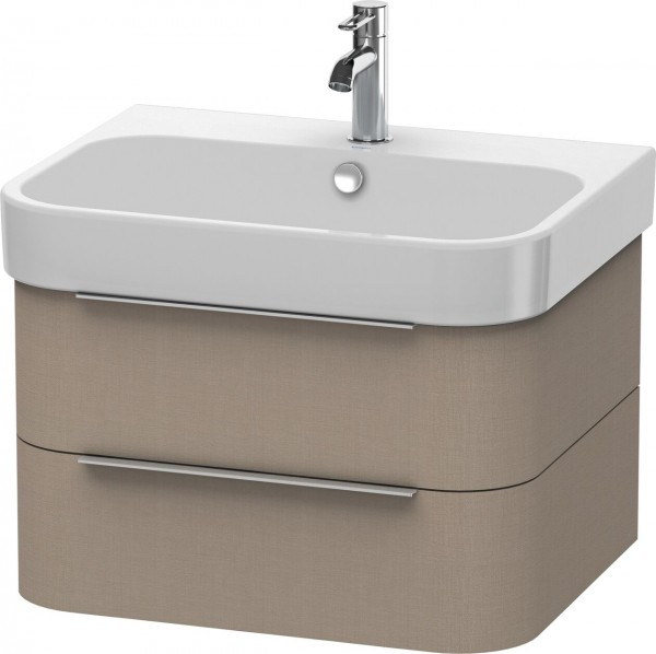 Meuble Pour Lavabo Encastrable Duravit Happy D.2 suspendu 625x480 mm Linge H2636407575
