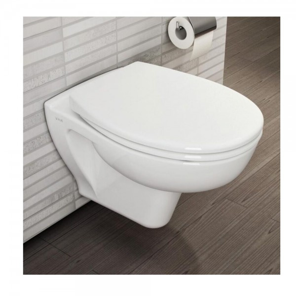 WC Japonais VitrA S20 Suspendu sans bride VitrAflush 2.0 355x420mm