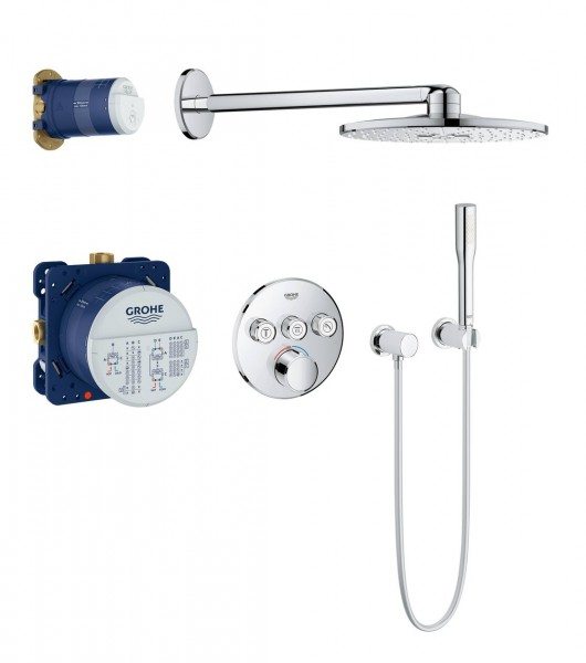 Douche Encastrable Grohe SmartControl SmartControl 400mm 2 jets Chromé 34709000