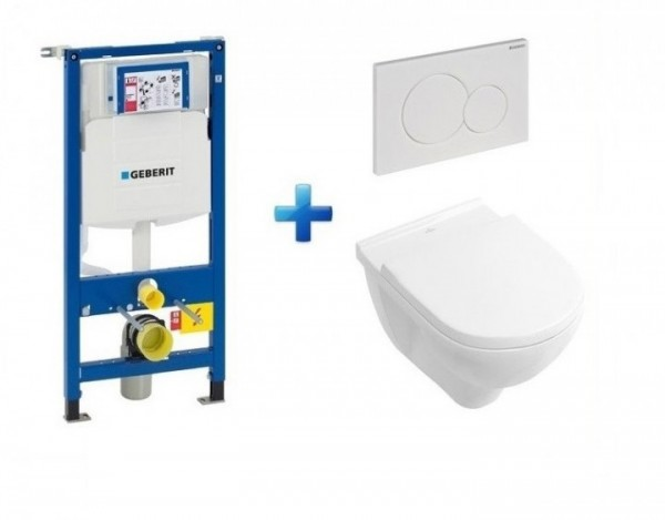 Villeroy And Boch Wall Hung Toilet And Frame Set O Novo