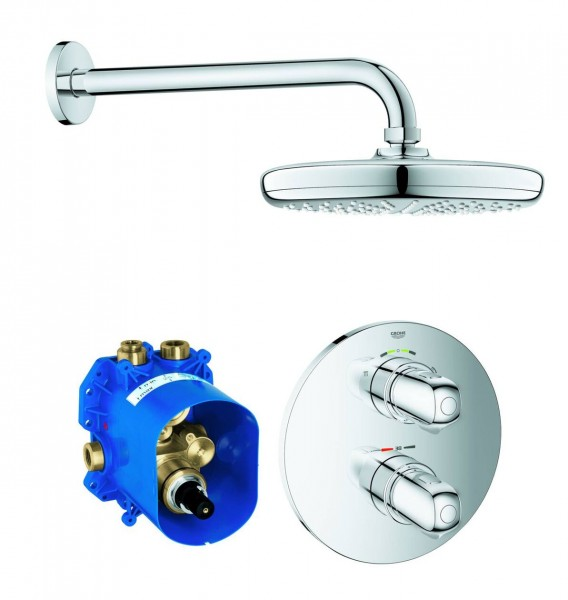 Douche Encastrable Grohe Grohtherm 1000 286mm 1 jet Chromé